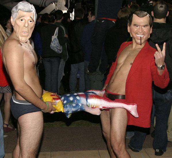 Photos from VP debat...